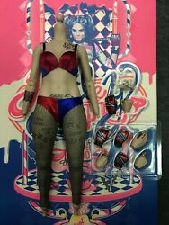 1 6 Hot Toys MMS383 DC Suicide Squad Harley Quinn Body Bikini for Action Figure $139.99