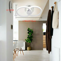 Acrylic Modern LED Ceiling Light Lamp Pendant Dining Room Fixture Dimmable 18W $33.05