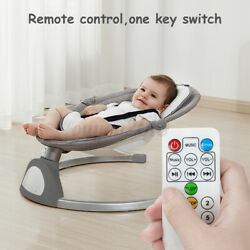 LCD bluetooth Remote Electric Rocker Baby Toddler Swing Cradle Bouncer Chair Bed $98.99