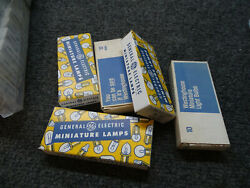 500 Genuine GE or Westinghouse BULBS 1815 2.80W 14V 50 boxes NEW