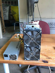 Antminer Z9 full size 42k sols 50k sols with APW3 PSU for Equihash Zcash $350.00