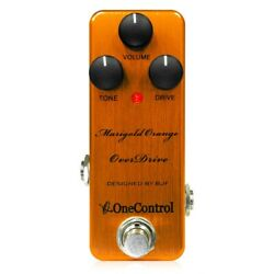 One Control Marigold Orange Overdrive Guitar Effector $197.39