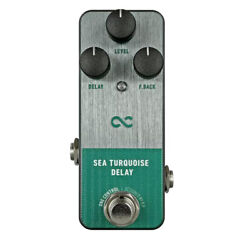 One Control Sea Turquoise Delay Guitar Effector $227.69