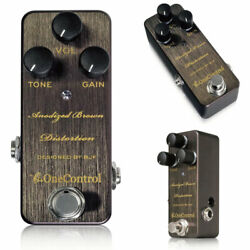 One Control Anodized Brown Distortion Guitar Effector $193.04