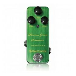 One Control Persian Green Screamer Guitar Effector $194.46
