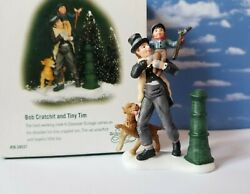 DEPT 56 Dickens Village BOB CRATCHIT and TINY TIM A Christmas Carol Scrooge $29.99