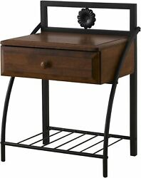 The perfect addition to your bedroom setting Jevenci vintage nightstand New $146.90