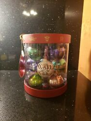 WATERFORD HOLIDAY HEIRLOOMS 12 DAYS OF CHRISTMAS ORNAMENT SET of 12 $100.00