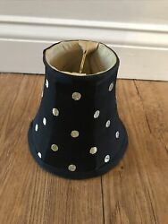 Mackenzie Childs Polka Dot Chandelier Shade Black $45.00