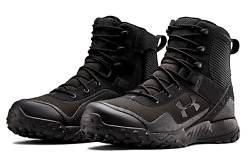 Under Armour UA Valsetz RTS 1.5 Black Military Tactical Boots 3021034 001 NEW $124.95