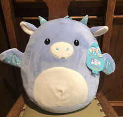 "Squishmallow Dane the Dragon 12"" Target Exclusive Plush Toy RARE NWT $30.00"