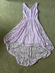 Lavendar Dress small with matching shoes and 8.5 9 shoe size Great condition $19.00