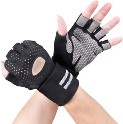 A code Breathable Ultralight Weight Lifting Sport Gloves Gym Workout Exercise G $14.31