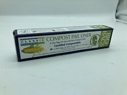 RSVP 50 Count Bio Bags 6 Liter Compost Pail Liners Sku2 $7.99