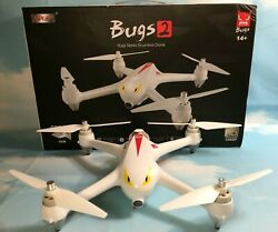 MJX Bugs 2 B2C Quadcopter Brushless Motors 1080P HD Camera GPS Altitude Hold $104.95