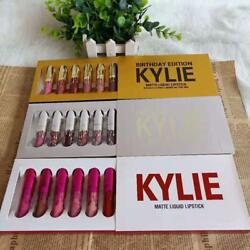 Kylie Jenner Birthday Edition Matte Liquid Lipstick Set 6 Pcs. NEW