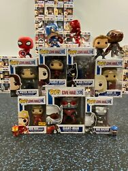 Captain America Civil War New Used and Loose Select Character $20.00