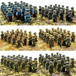 US STOCK 21pcs WW2 Military Soldiers US Army Weapon for Lego Minifigures $26.99