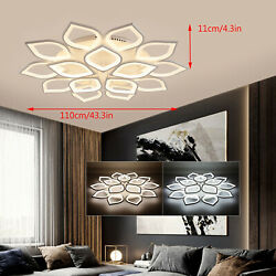 15HEAD Modern Ceiling Light LED Acrylic Lamp Chandeliers For Living Room Bedroom $185.03