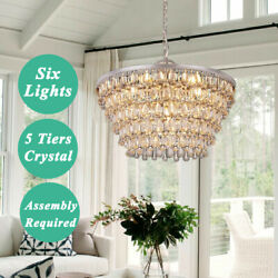 Modern Lamp Crystal Chandelier Home Decor Ceiling Lighting Pendant Fixtures $199.99