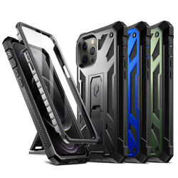 Poetic Spartan For iPhone 12 12 Pro 12 Mini 12 Pro Max Case with Kickstand $17.95