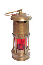 Handmade Brass Oil Lamp Nautical Antique For Home And Office Decoration $26.00