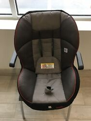 Evenflo Triumph Carseat Cover Gray Maroon Smoke Free Pet Free Looks New $9.99