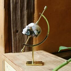 Caliper Crystal Display Stand in Brass 6.5quot; $24.99