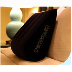 Sex Triangle Pillow Aid Inflatable Love Position Cushion Couple Bounce Chair New $15.89