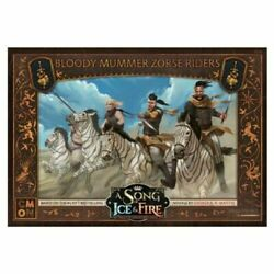 A Song of Ice and Fire Miniature Game Blood Mummer Zorse Riders NIB $29.00