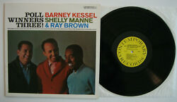 Kessel Manne Brown Poll Winners Three EX EX Contemporary S7576 Reissue $14.99