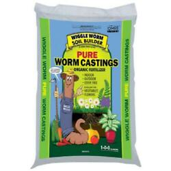 Wiggle Worm WWSB30LB Unco Industries Builder Worm Castings 30 lb Compost Soil $41.99