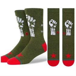 NEW Rage Against The Machine Stance mens socks LARGE $39.99