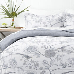Home Collection Down Alternative Molly Botanicals Reversible Comforter Set $34.99