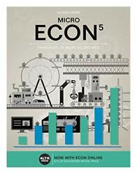 ECON MICRO with ECON MICRO Online 1 term 6 months Printed Access Card N… $19.95