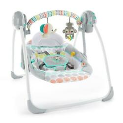 Baby Swing Portable cradle infant bouncer rocker sway toddler chair rocking seat $61.68