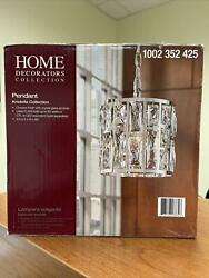 Home Decorator Collection Pendant Chandelier Chrome Finish Kristella Collection $64.99