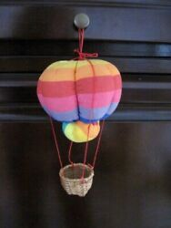 Hanging Hot Air Balloon Fabric Novelty Kids Room Toy $4.99