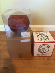 LARRY BIRD Signed Spalding Game Series Basketball RARE FIND with COA $275.00