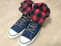 Converse All Star Knee High Denim Made In Usa 80S $292.03