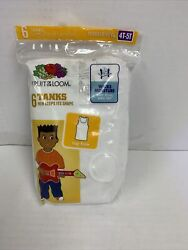 6 Fruit of the Loom Boys#x27; Cotton Tank Top Undershirt MultipackToddler 4T 5T New $11.49