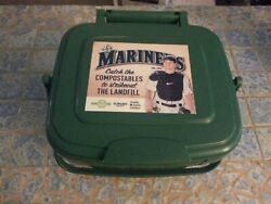 Mike Zunino Compost Bucket Kitchen Catcher Giveaway Seattle Mariners 6 29 14 $7.95