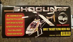 SHOGUN 400 RC HELICOPTER N.O.S.  $75.00