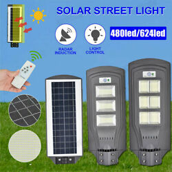 720W 936W Commercial Solar Street Light LED Outdoor IP67 Dusk to Dawn Road Lamp