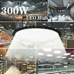LED UFO High Bay Light 300W 30000LM Industrial Commercial Lighting Fixture 110V