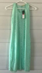 Gianni Bini Mint Green Lace Dress Women#x27;s Size Small New Floral $22.00