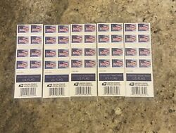 US Flag Forever Stamps USPS U.S. 1st Class Postage 2018 100pcs Stamps $43.00