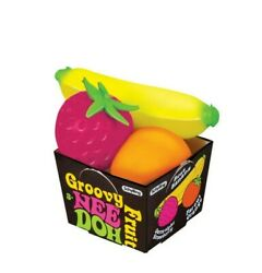 Schylling Nee Doh Groovy Fruit Novelty Toy $8.99