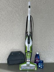BISSELL CrossWave Floor and Carpet Cleaner with Wet Dry Vacuum 1785A Green $160.00
