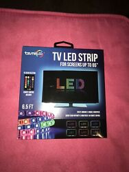 """Tzumi LED TV LED Lights for screens up to 65"""" WITH REMOTE"""